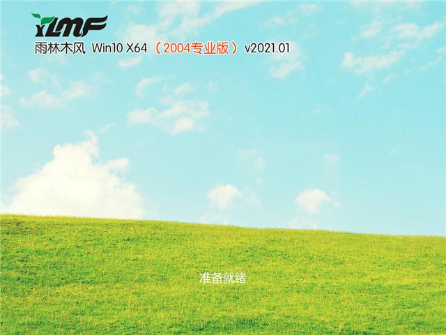 雨林木风 Win10 64位专业版(2004) v2021.01