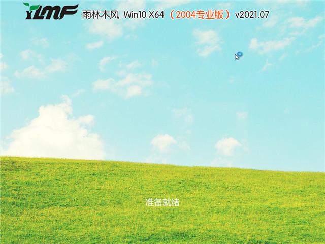 雨林木风 Win10 64位专业版(2004) v2021.07